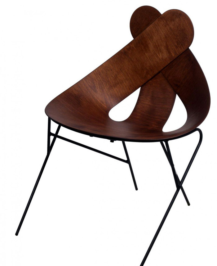 real wood chair