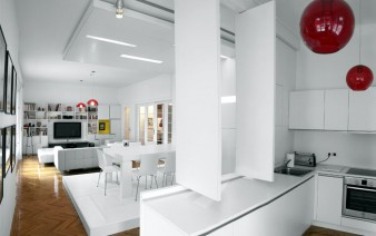 white apartment furniture design 338x212
