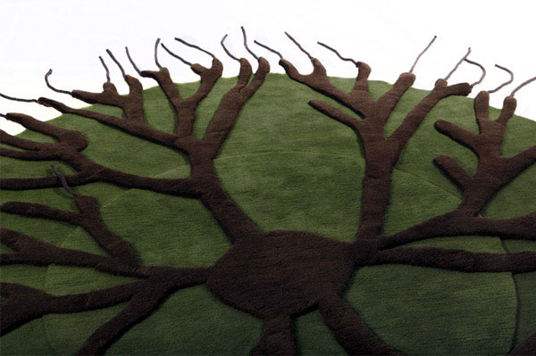 three dimensional rug roots