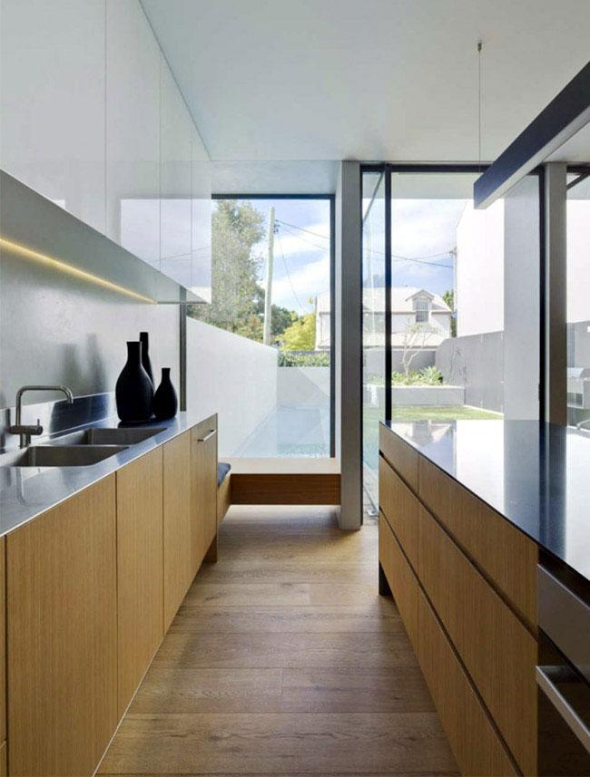generous family home kitchen