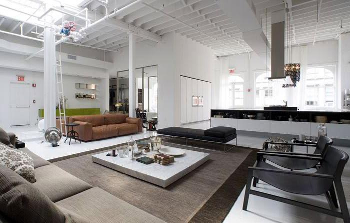 contemporary lifestyle interior living area