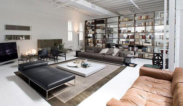 contemporary lifestyle loft