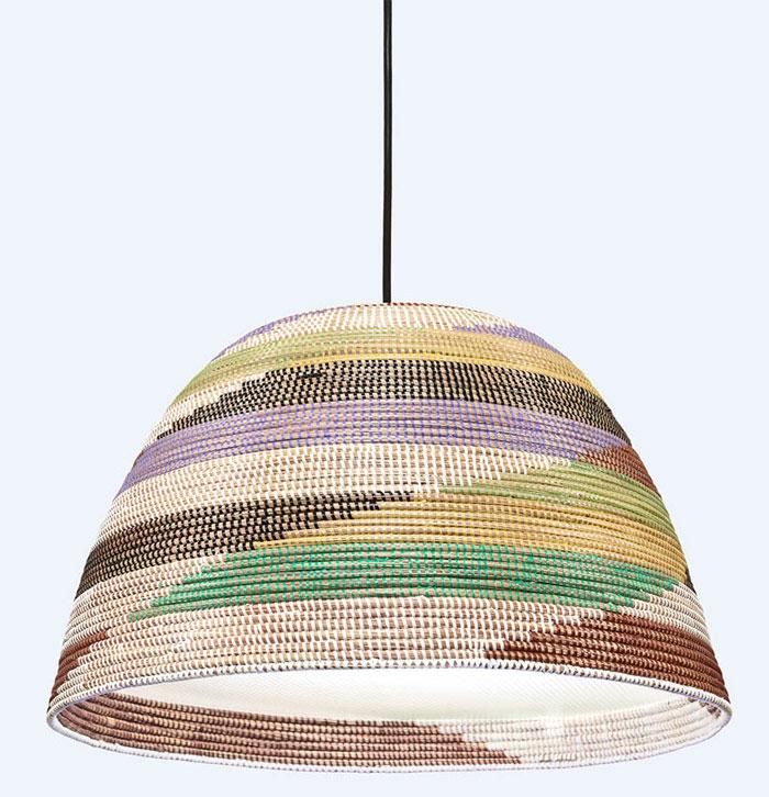 single basket lamp