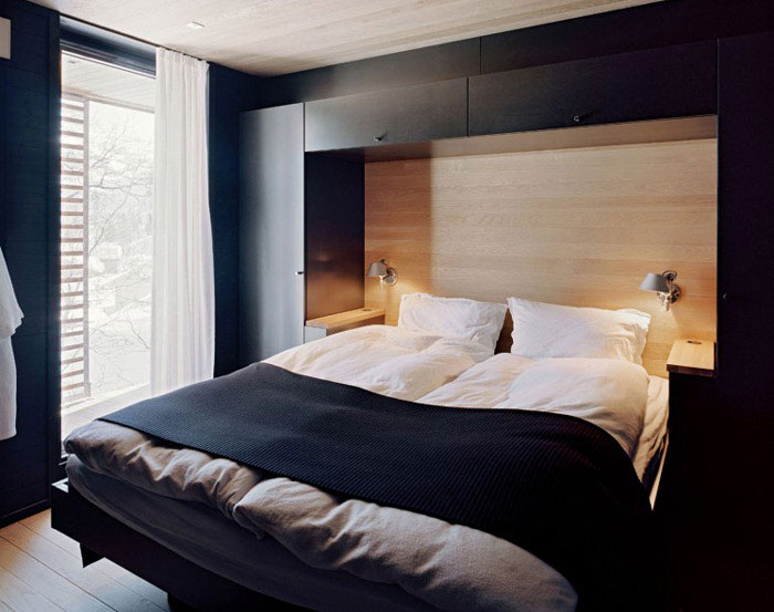 stylish home interior bedroom