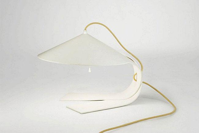 harmonious complexity shapes lamp
