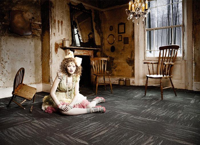 modular flooring vintage revival