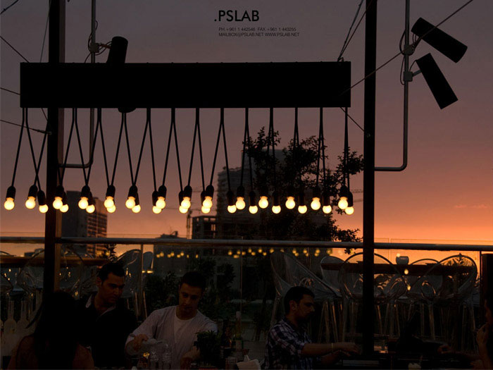 custom lighting products open air restaurant
