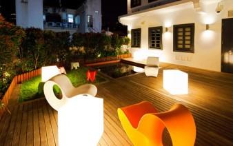 contemporary design hotel garden decor 338x212