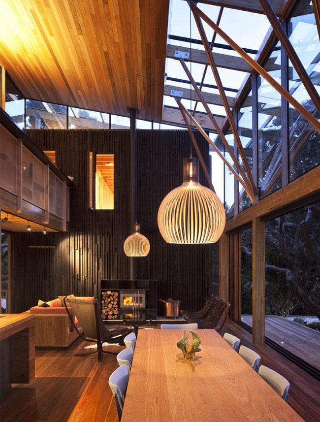 beach house interior living area