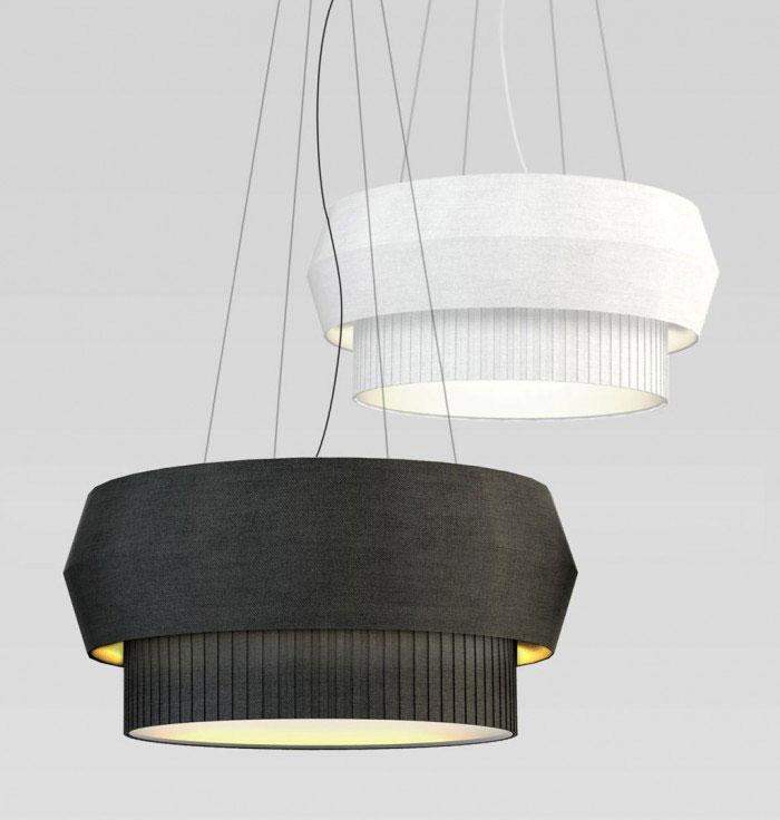 delta lamp series black white