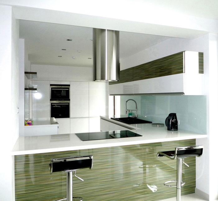 family house interior kitchen