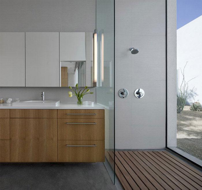 modern residence bathroom