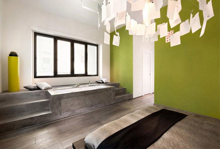 luxurious apartment interior design bedroom