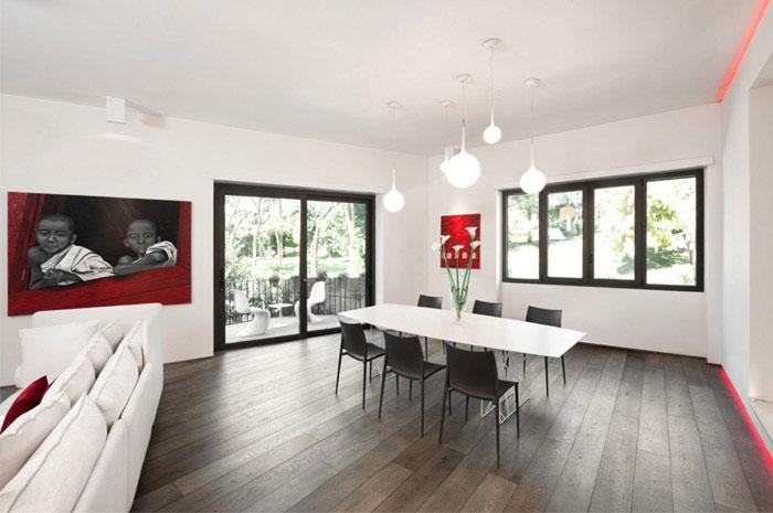 luxurious apartment interior design dining area