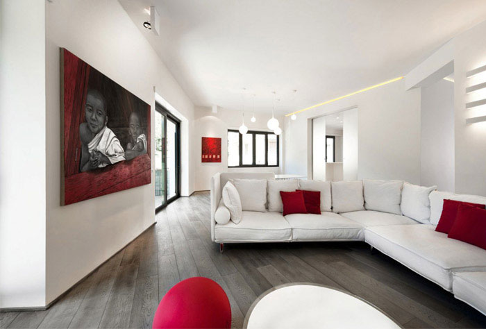 luxurious apartment interior design living room
