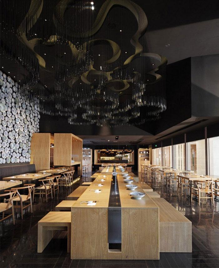 taiwan noodle house interior design