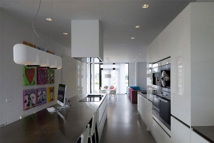 elegant villa interior kitchen design