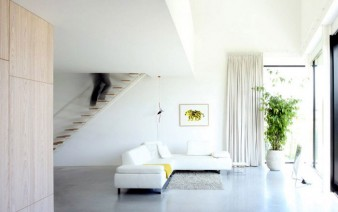house made of aluminum interior living room 338x212