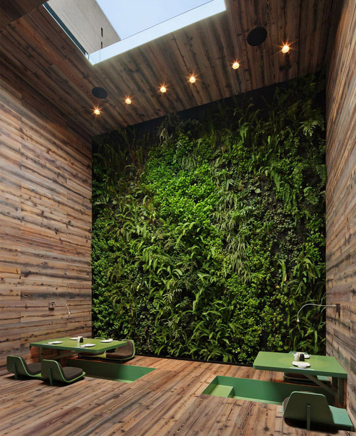 Bathroom Design Trends 2019: Contemporary Japanese Restaurant Interior