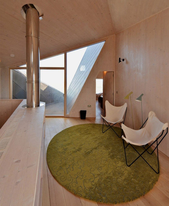 levitating house interior