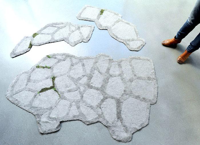 textile collection rocks rug