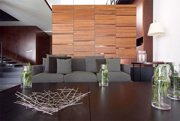 contemporary home interior living area