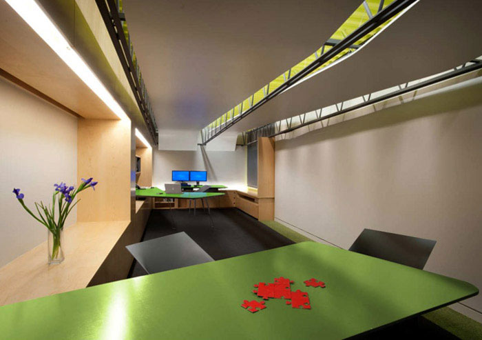 existing office green space