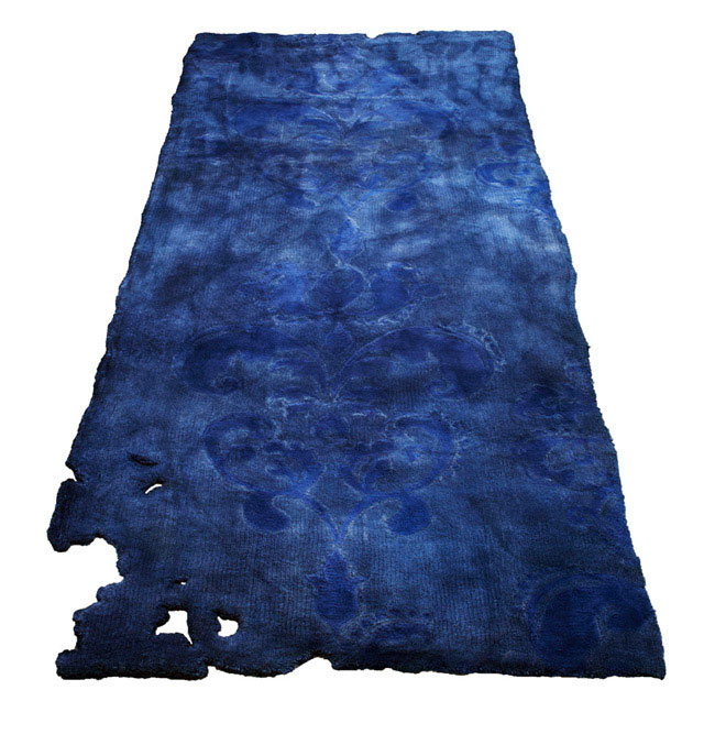 fading pattern rug