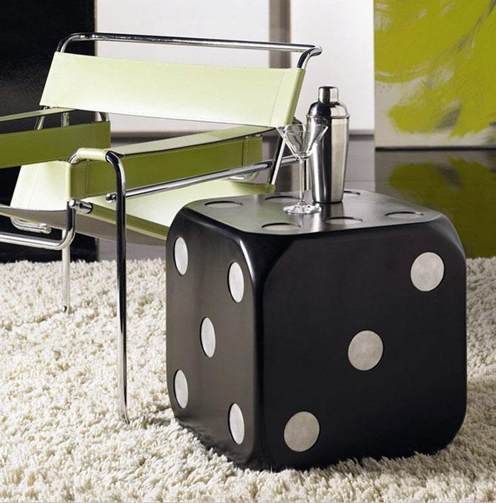 coffee table interior green