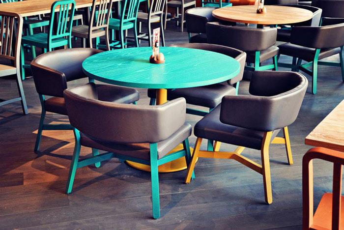 restaurant style concept decor