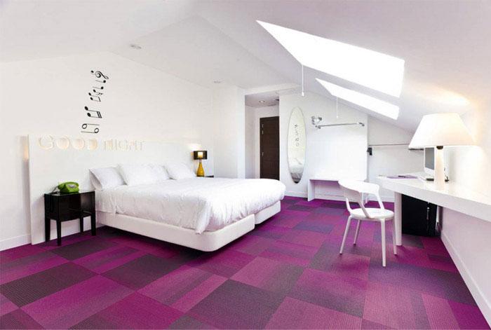 bed room interior hotel