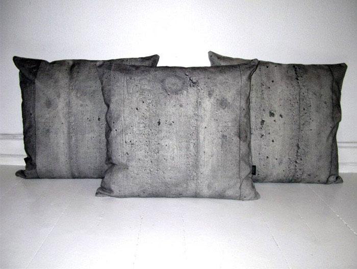 concrete pillows