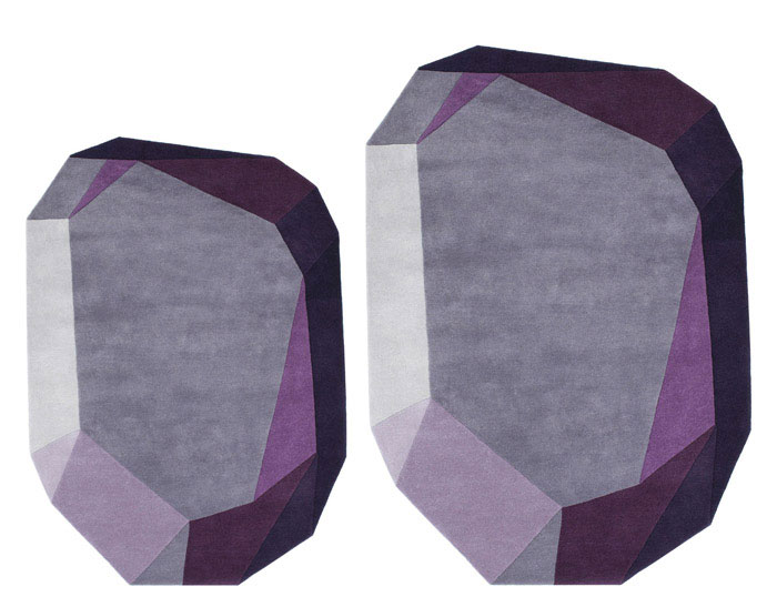 normann copenhagen gem carpet purple