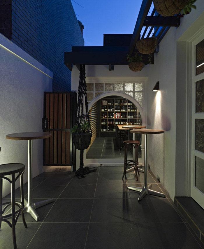 outdoor space melbourne bistro
