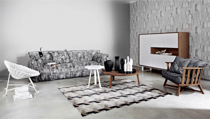 upholstered collection living room furniture