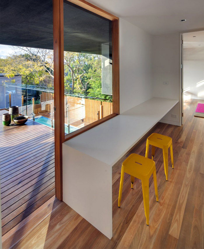 contemporary family home interior