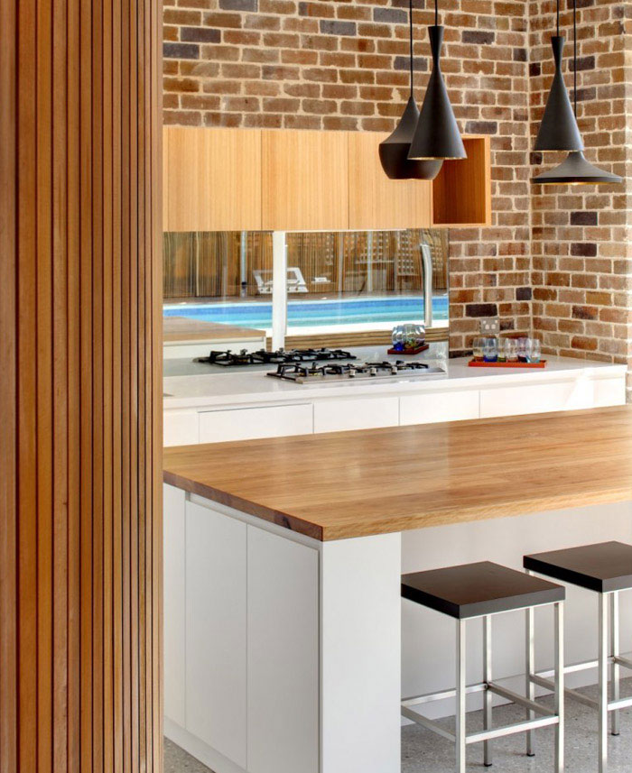 contemporary family home kitchen