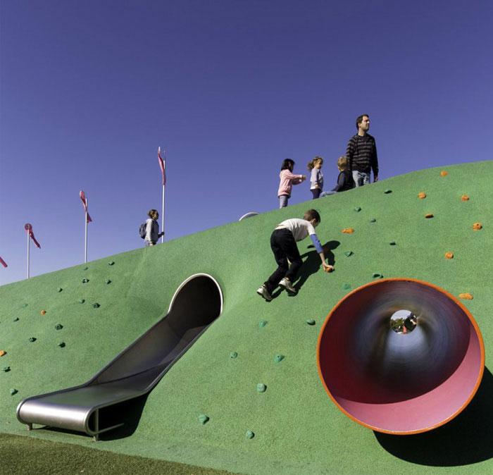 landform extends playground