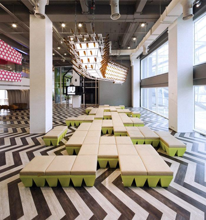 student lounge interior decor furniture design