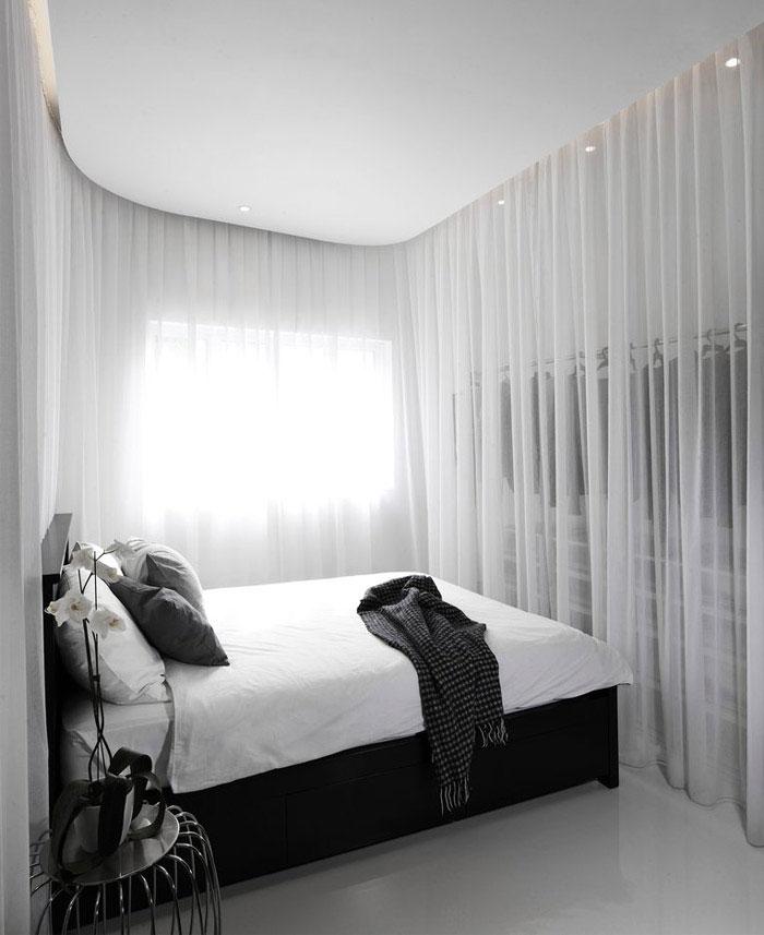 building shophouse white bedroom