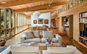 contemporary home open plane living area 338x212