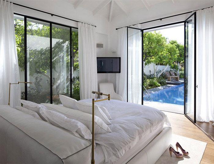elegant modern interior bedroom