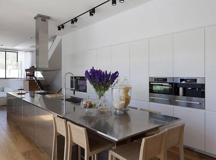 elegant modern kitchen interior