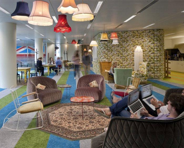 google office ligting decor