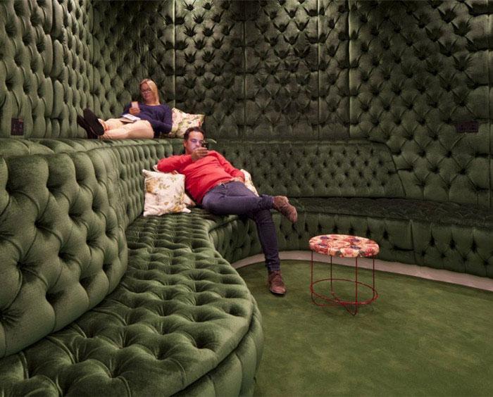textile furniture office decor