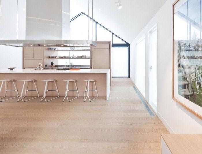 modern residential open plan living