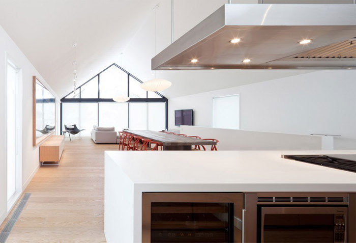 modern residential project open plan living