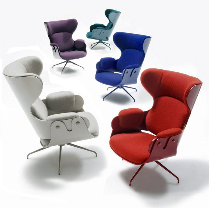lounger classic interpretation armchair