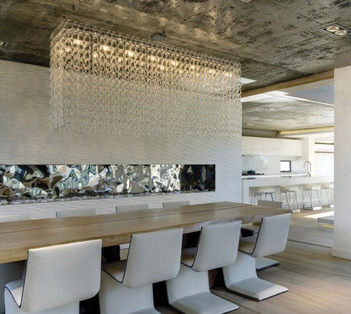 luxury residence interior lighting decor