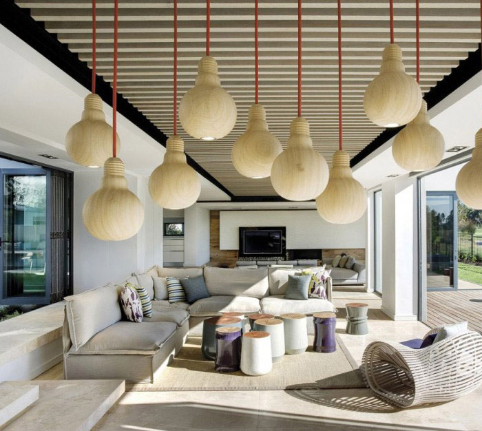 luxury residence interior living room